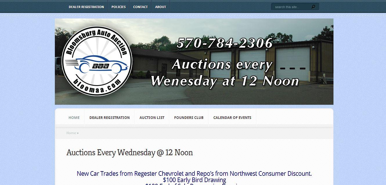 Auto Auction Website
